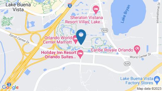 Orlando World Center Marriott Map