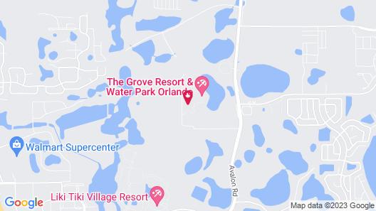 The Grove Resort & Water Park Orlando Map
