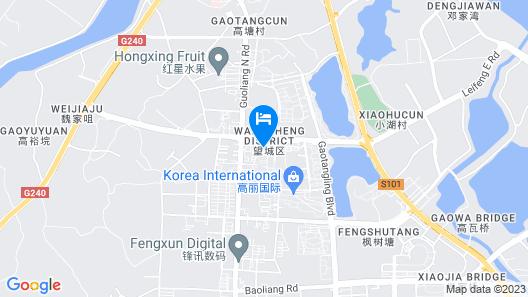 Liancheng Huatian Hotel - Changsha Map