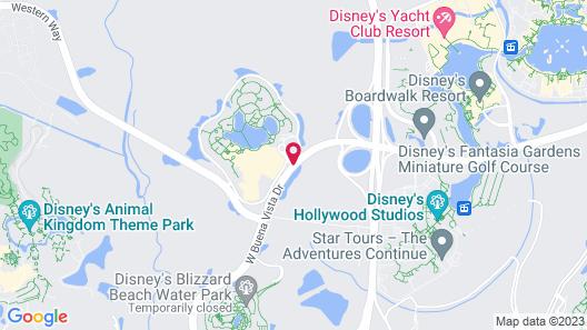 Disney's Coronado Springs Resort Map