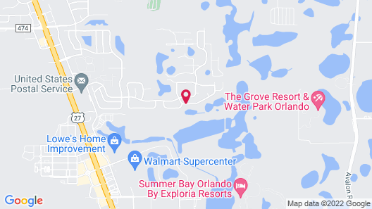 Clermont Pool Homes by RMG - Clear Creek Map