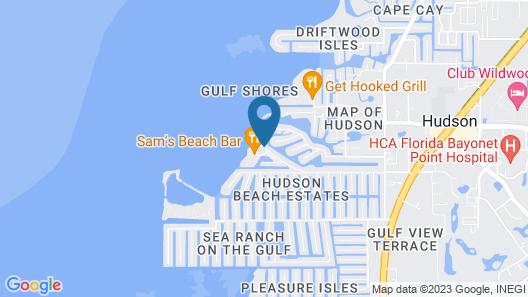 Inn on the Gulf Map