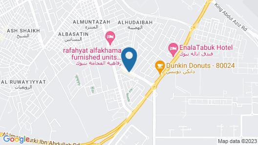 OYO 232 Fawasel Tabuk 2 Hotel Apartment Map