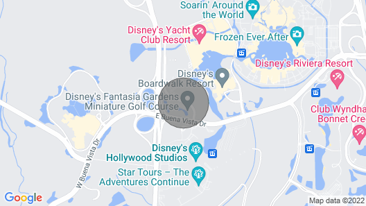 Flexible Cancelation Policy/resort Open/free Shuttle Disney/games Room/pool Map