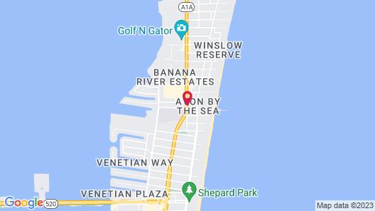 Days Inn by Wyndham Cocoa Beach Port Canaveral Map