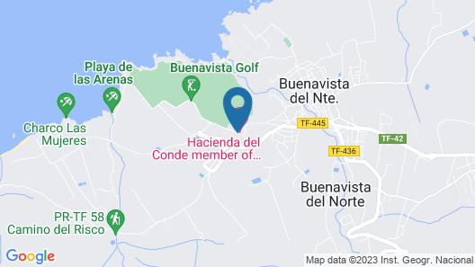 Melia Hacienda del Conde - Adults Only Map