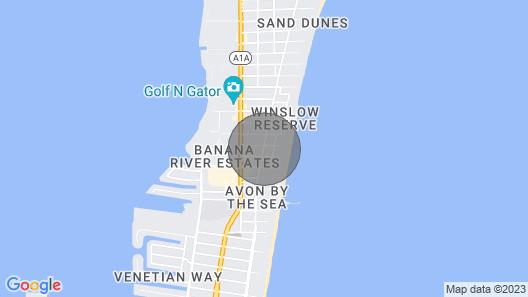 Cozy Cocoa Beach Bungalow - Walk to Beach & Pier! Map