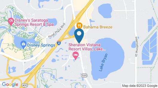 Holiday Inn Resort Orlando - Lake Buena Vista Map