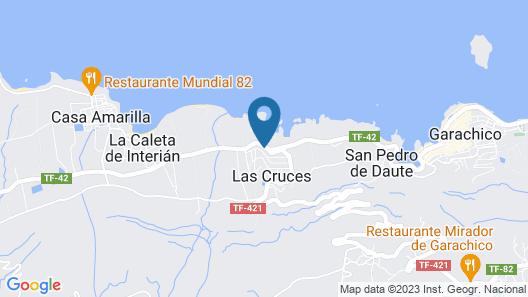 HomeLike Garachico Ocean View Map