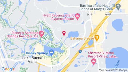 Hilton Orlando Buena Vista Palace - Disney Springs® Area Map
