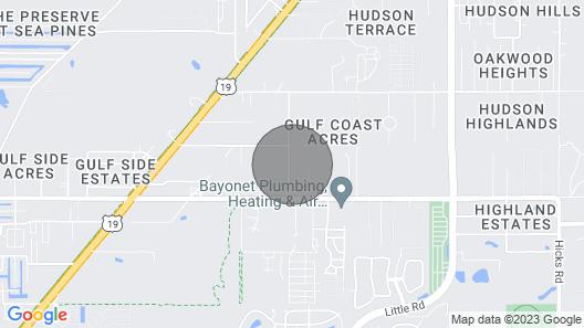 Tiny-Farm B & B  (An Animal Lovers Paradise) HUDSON, FL Map