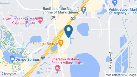 Fairfield Inn & Suites Lake Buena Vista in Marriott Village Map