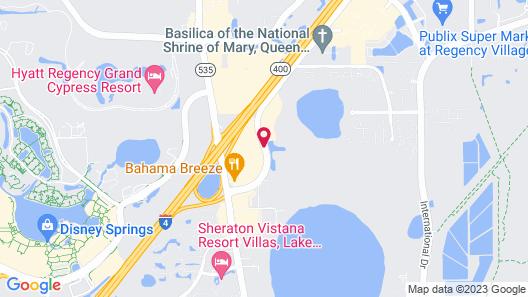 SpringHill Suites Orlando Lake Buena Vista Marriott Village Map