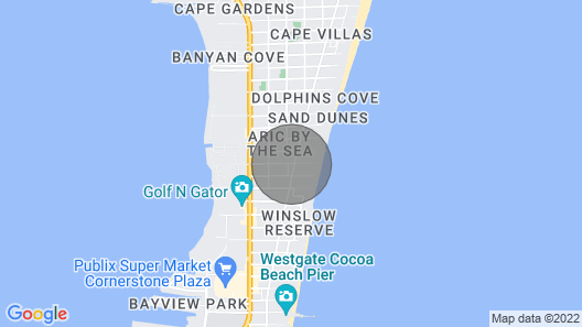 Gorgeous and Relaxing Beachside Condo Map