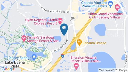 Best Western Lake Buena Vista - Disney Springs Res Map
