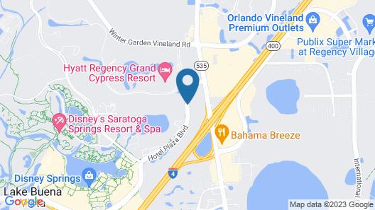 DoubleTree Suites by Hilton Orlando - Disney Springs® Area Map