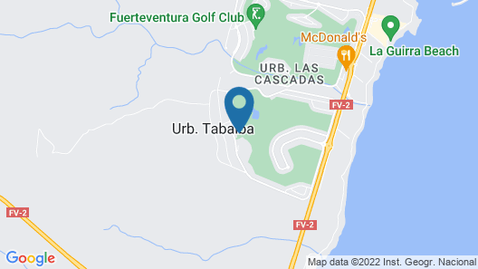Villas Caleta Beach & Golf Map