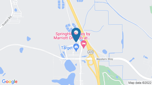 Home2 Suites by Hilton Orlando at Flamingo Crossings Map