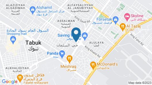 OYO 470 Dar Lafina Map