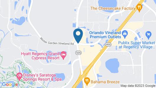 Hyatt Place Orlando/Lake Buena Vista Map
