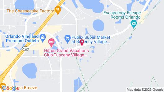Floridays Resort Orlando Map