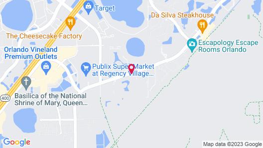 Sheraton Vistana Villages Resort Villas, I-Drive/Orlando Map