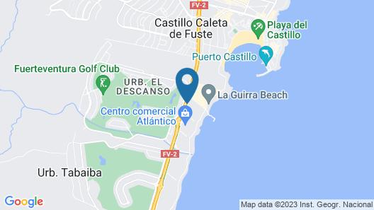 Elba Carlota Beach & Convention Map