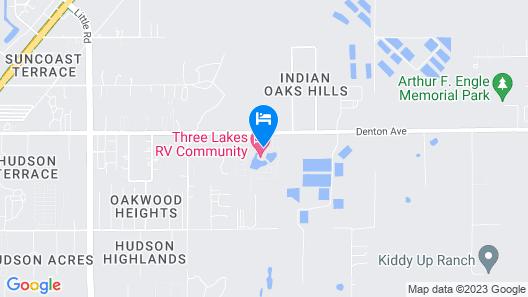 Three Lakes Rv Resort Map