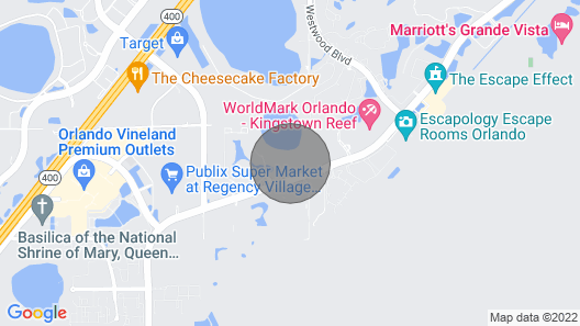 The Fountains Resort, Orlando FL Map