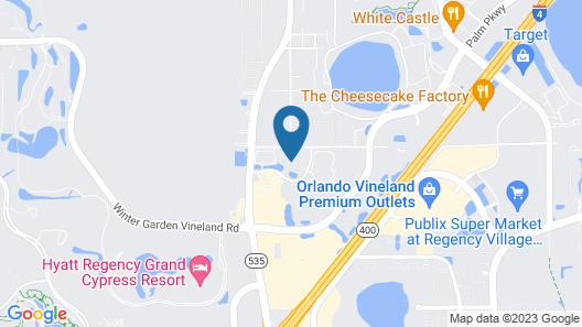 Grande Villas Resort by Diamond Resorts Map