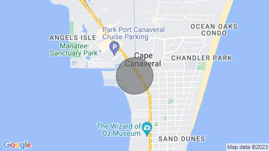 New Listing! Dog-friendly Getaway w/ a Private hot tub & Yard - Near the Beach Map