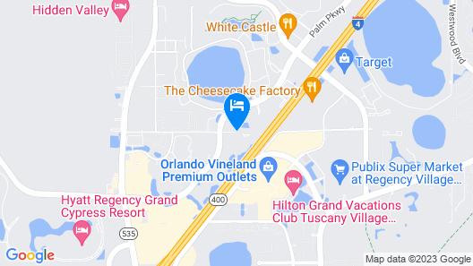 Embassy Suites Lake Buena Vista Resort Map