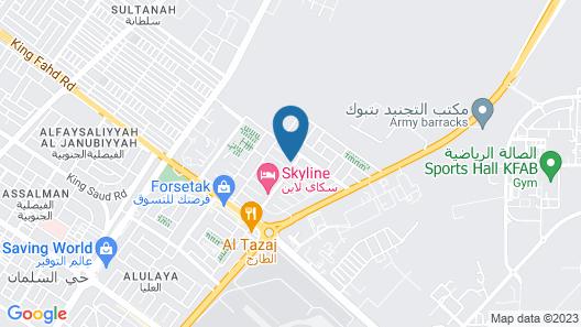 Hams Al Amasi Apartments Map