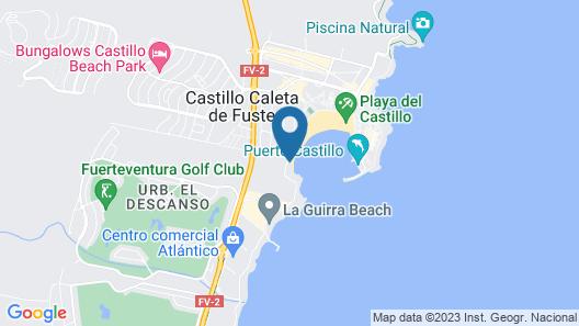 Eurostars Las Salinas Map