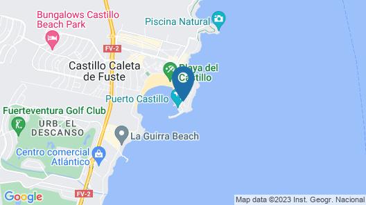 Barceló Castillo Royal Level Map