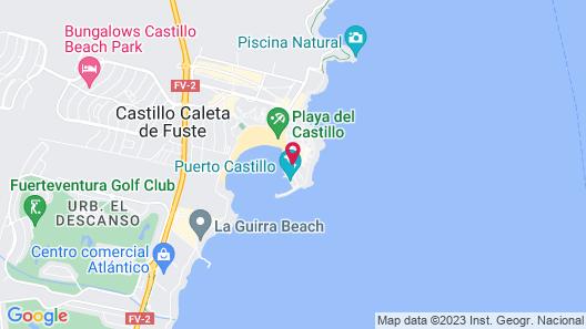 Barceló Castillo Beach Resort Map
