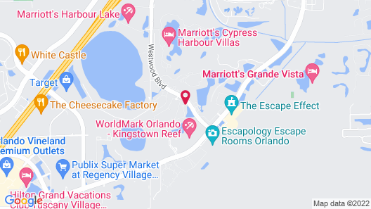 Westgate Leisure Resort Map