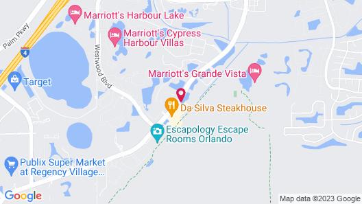 WoodSpring Suites Orlando International Drive Map