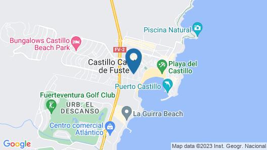 Bungalows Castillo Playa Map