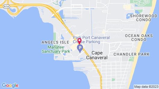 Radisson Resort at the Port Map