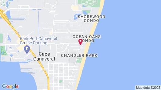 Royal Mansions Resort Map