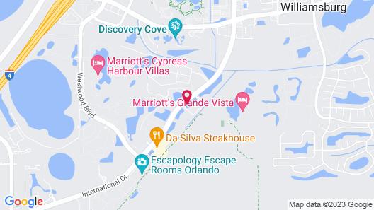 La Quinta Inn & Suites by Wyndham Orlando - IDrive Theme Parks Map