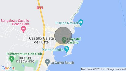 Dream house duplex in Caleta de Fuste Map