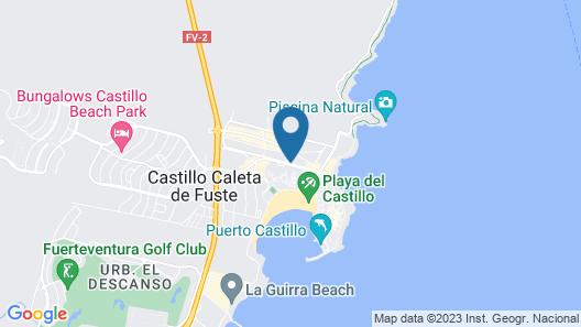 Puerto Caleta Map