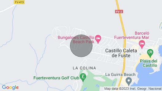 Villa Rosa in Fuerteventura Map