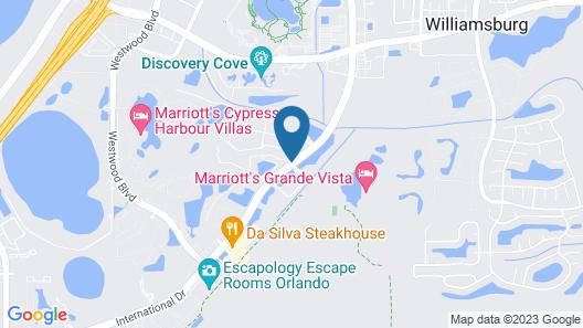 Parc Corniche Condominium Suite Hotel Map