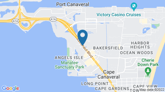 Residence Inn by Marriott Cape Canaveral Cocoa Beach Map