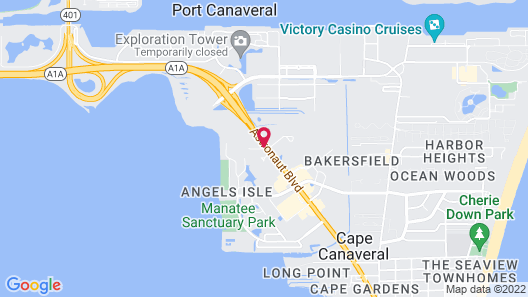 Country Inn & Suites by Radisson, Port Canaveral, FL Map