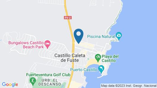Apartamento Esmeralda Map