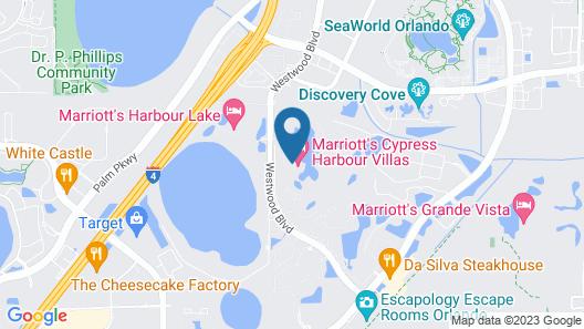 Marriott's Cypress Harbour Villas Map